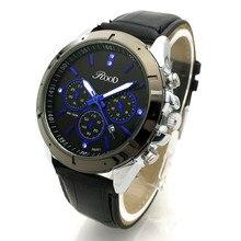 Новая Мода Мужские Часы Лучший Бренд Роскошные Кожаные Бизнес Кварцевые Часы Мужчины Наручные Часы Водонепроницаемые Relogio Masculino