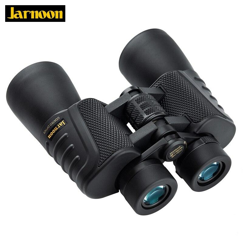 Jarnoon 20X50 Binoculars Lll Night Vision Professional Telescope Wide angle Eyepiece Powerful waterproof binocular for Hunting