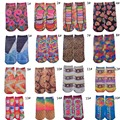 New Design Fashion Personality Colorful Food Candy 3D Pirnt Cotton Polyester Women Autumn Spring Creative Funny Socks