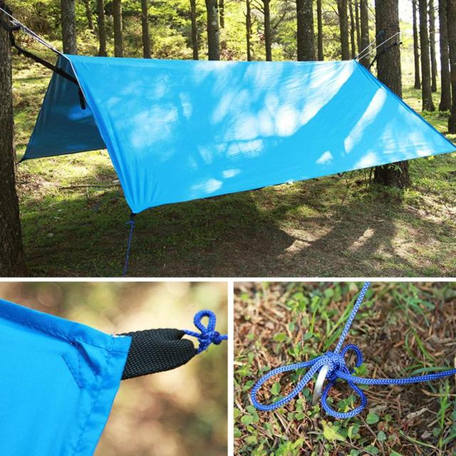 outdoor portable lightweight camping tent tarp shelter mat hammock cover waterproof gear for camping fishing outdoor portable lightweight camping tent tarp shelter mat hammock      rh   aliexpress