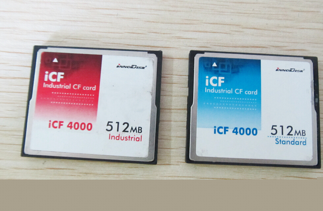 512mb industrial CF card iCF 4000 512MB Compact Flash Card With Free Card Case