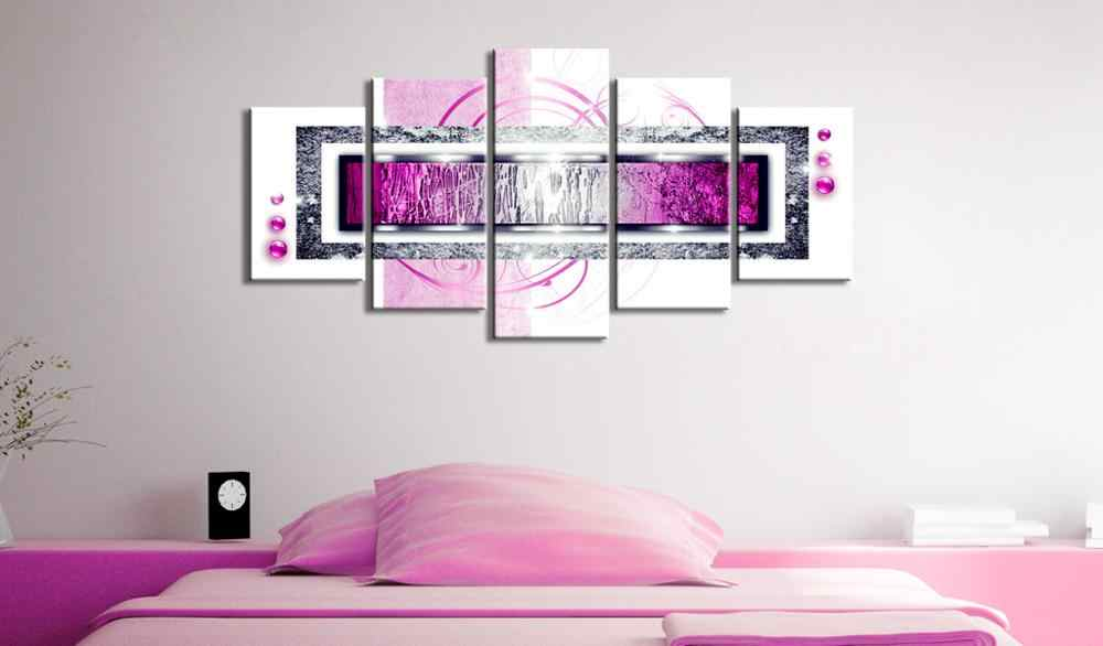 5 pieces/set Abstract poster night view Picture Print Painting On Canvas Wall Art Home Decor Living Room Canvas Art PJMT-B (231)