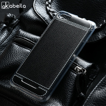 AKABEILA Lichee TPU Case Cover For BQ 5065 Choice Silicon BQS-5065 BQS Protector