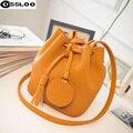 2016 balde saco de sacos de Mulheres mensageiro Mansur Gavriel preço em dólar mulheres famosas marcas de luxo saco de couro balde saco