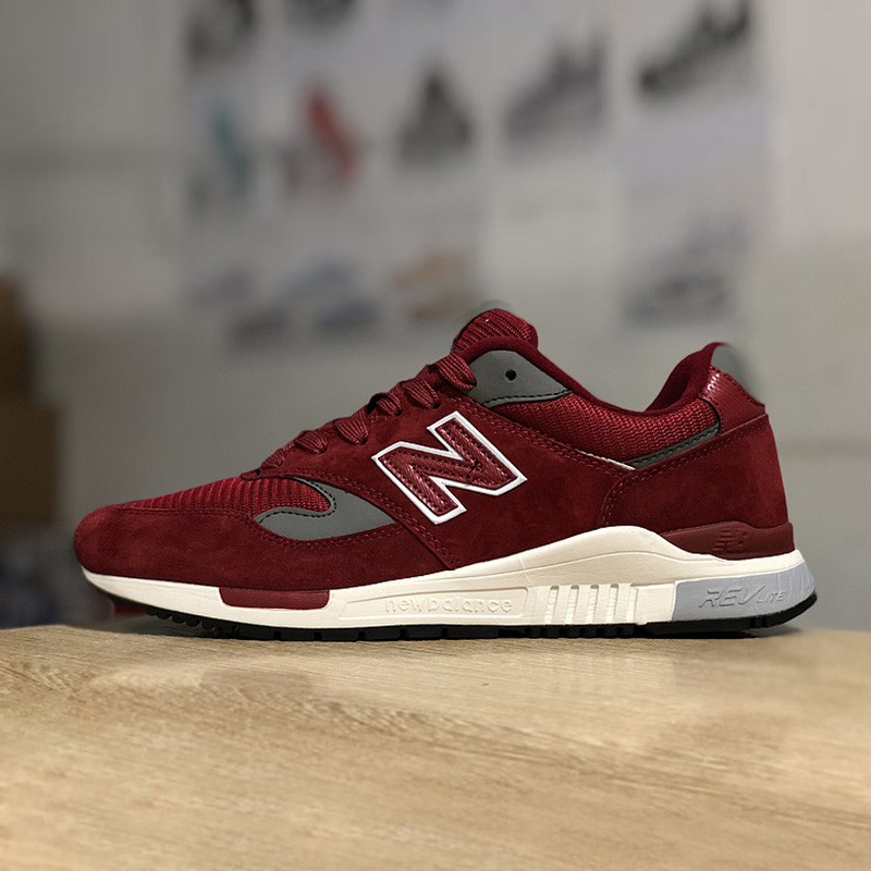 NEW BALANCE NB840 mens Classic Running Shoes  Wine Flat Shoes Outdoor sneakers Black Footwear Size 40-44NEW BALANCE NB840 mens Classic Running Shoes  Wine Flat Shoes Outdoor sneakers Black Footwear Size 40-44