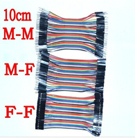Free Shipping Dupont Line 120pcs 10cm Male To Male Male To Female And Female To Female