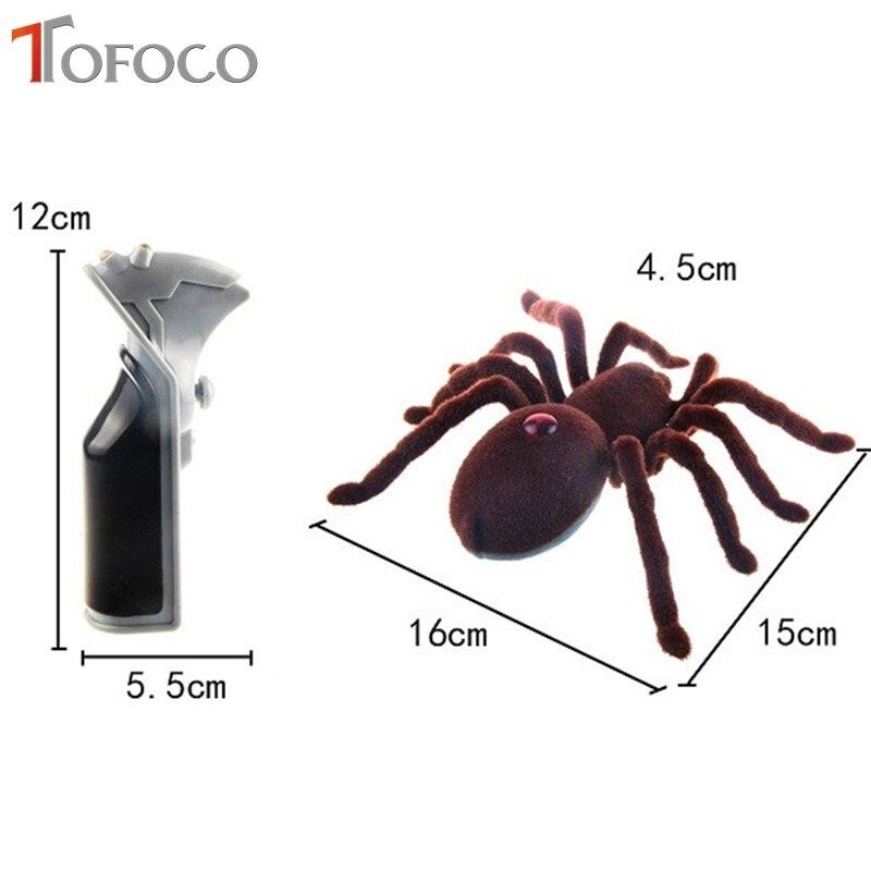 TOFOCO Infrarot Kakerlaken/Spinnen Fernbedienung Mock Gefälschte RC ...