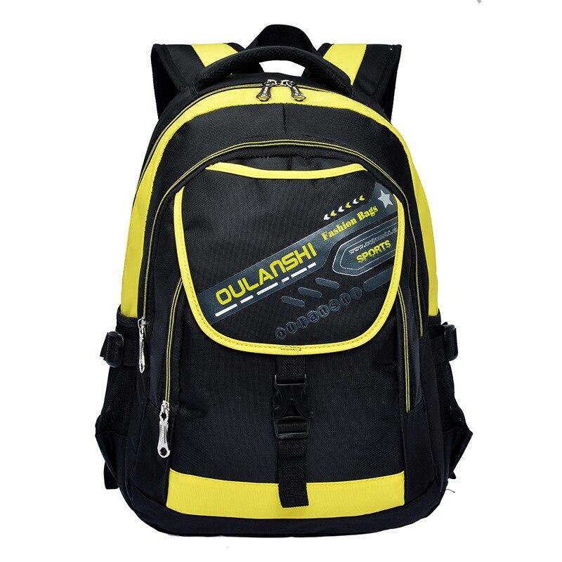 hot waterproof polyester children school bags for boys and girls kids randoseru backpack orthopedic school satchel mochila Q1