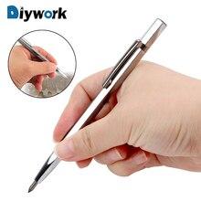 DIYWORK литая ручка Ручной инструмент гравировальная ручка для стеклокерамики металла резьба по дереву портативная ручка для рукописей Алмазный металл