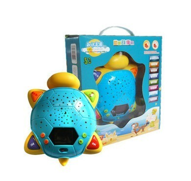 Garden turtle playright knowledge s6 turtle toy s2 projection music lights