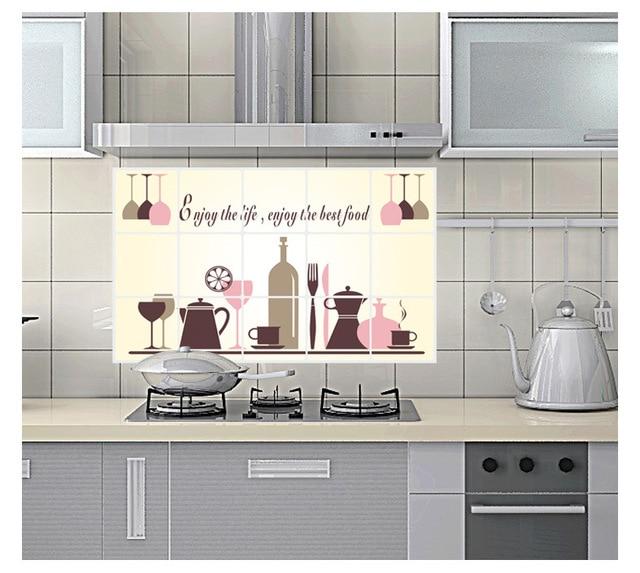 Para paredes de cocina para paredes de cocina reforma de - Papel para paredes de cocina ...