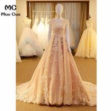 2018 Elegant A-Line Evening Dresses Long Party Dress