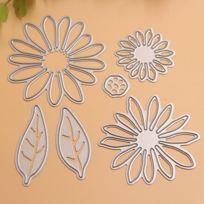 flower metal cutting dies stencils for diy scrapbooking. Black Bedroom Furniture Sets. Home Design Ideas