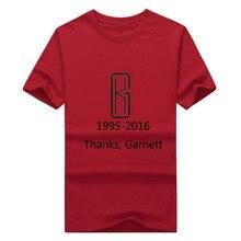 1995 2016 Hombres Gracias Adiós Rey Lobo 21 años Kevin Garnett KG Los  GRANDES Hombres de La Camiseta 100% algodón f4c7f668c8a
