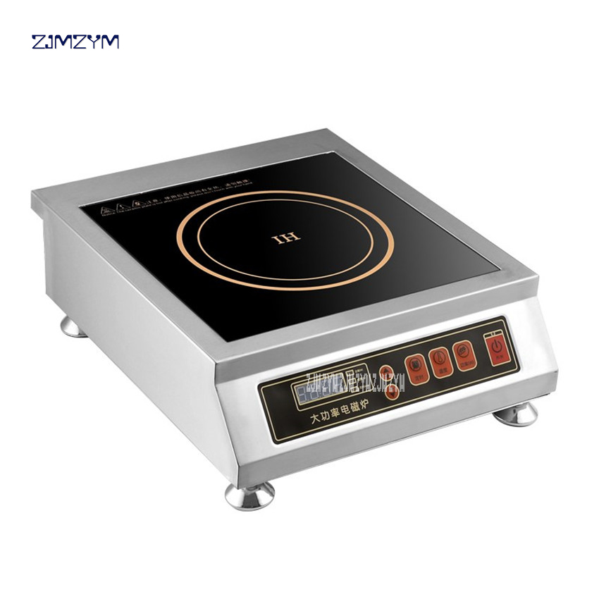 F-350D Commercial electromagnetic oven 3500W power induction cooker electric frying stove stir household stainless steel plane free shipping electric power ceramic stove tricyclic infrared light electromagnetic oven silent does induction cookers