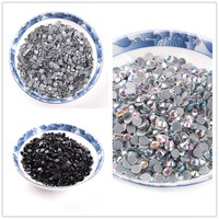 Big size crystal ab multi colors 40 gross DMC Hot fix Rhinestones glass stone strass hotfix for party dress decoration