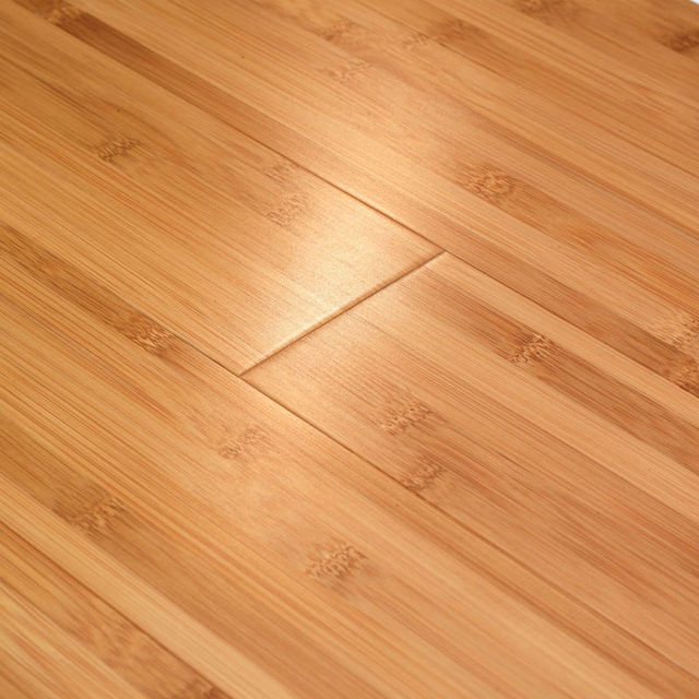 Solid Bamboo Flooring Horizontal Carbonized Premium Quality Eco Green