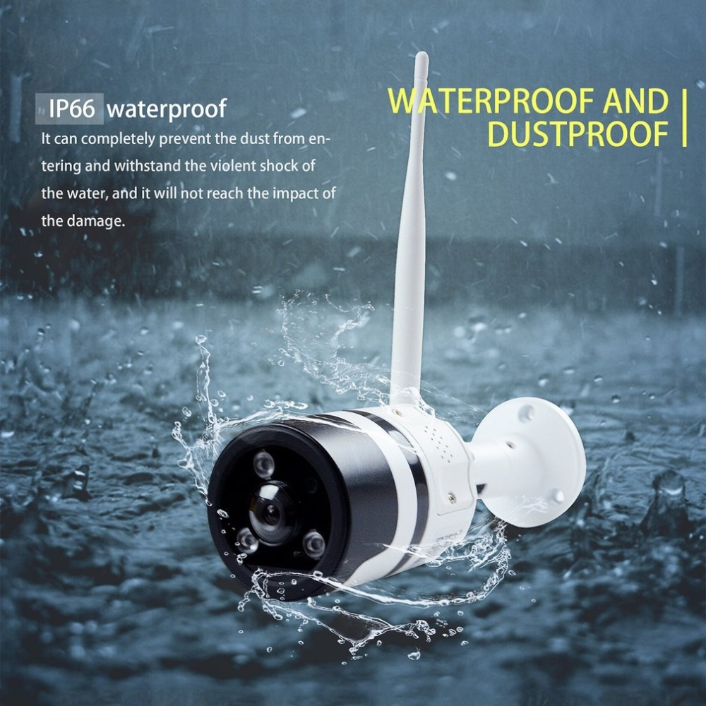 Wifi IP Camera 960P HD Wireless Camera Waterproof Security Surveillance Camera Clear Night Vision Motion Detection million hd network camera mobile phone wireless surveillance camera night vision wifi mobile detection