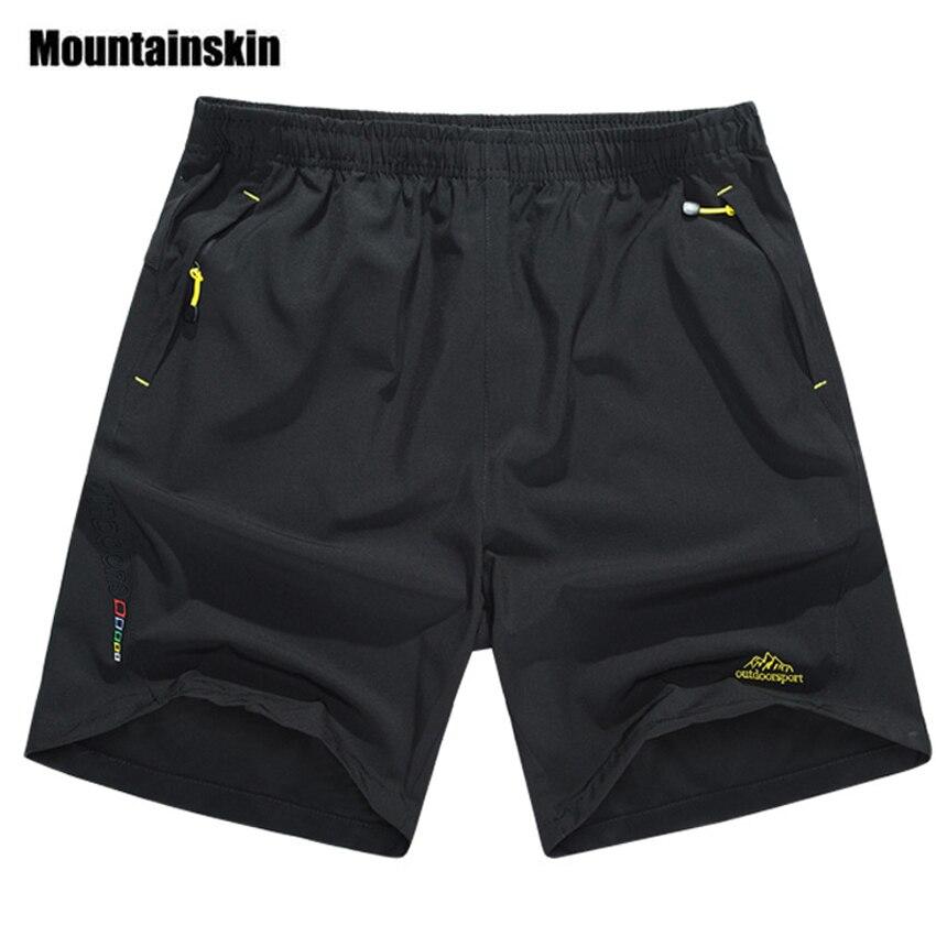 Mountainskin Summer Men's Quick Dry Shorts 8XL 2018 Casual Men Beach Shorts Breathable Trouser Male Shorts Brand Clothing SA198