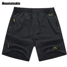 Mountainskin Лето мужская Quick Dry Шорты 5XL 2017 Случайные Люди Пляжные Шорты Дышащий Мужской Брюк Шорты Бренд Одежды SA198