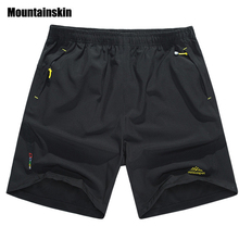 Mountainskin Summer Men's Quick Dry Shorts 5XL 2017 Casual Men Beach Shorts Breathable Trouser Male Shorts Brand Clothing SA198