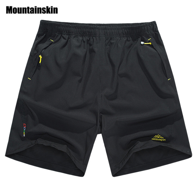Mountainskin Summer Men's Quick Dry Shorts 8XL 2017 Casual Men Beach Shorts Breathable Trouser Male Shorts Brand Clothing SA198