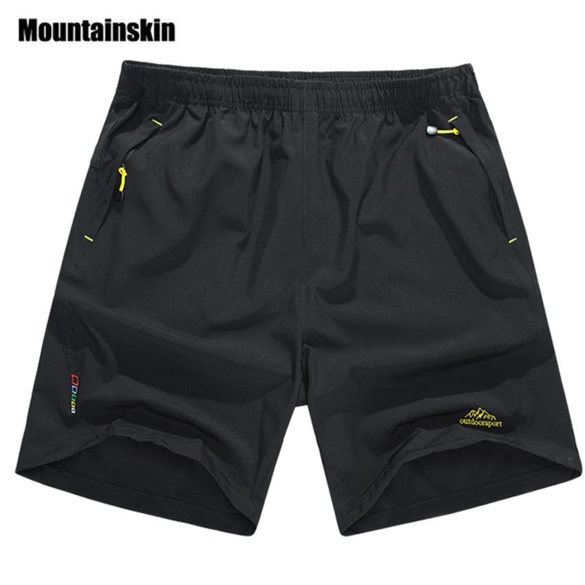 Mountainskin Summer Men's Quick Dry Shorts 8XL 2019 Casual Men Beach Shorts Breathable Trouser Male Shorts Brand Clothing SA198