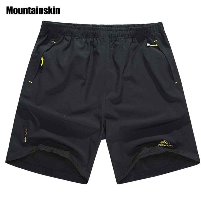 Mountainskin Summer Men's Quick Dry   Shorts   8XL 2019 Casual Men Beach   Shorts   Breathable Trouser Male   Shorts   Brand Clothing SA198