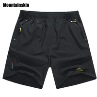 Mountainskin Summer Men S Quick Dry Shorts 5XL Casual Mens Beach Shorts Gym Breathable Trousers Male