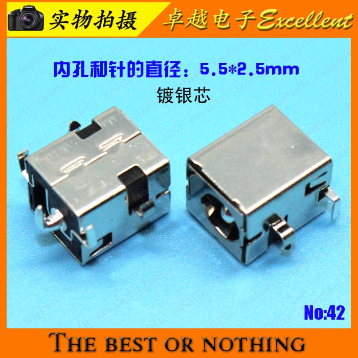 YuXi 100 pcs free shipping NEW DC Jack For ASUS A43 K43 A53 K53 X44 X83 K72 K54 X54 K42 A42 X52 A84S X54H Series DC Power Jack brand new dc power jack for asus g71 g71g g71gx g73 g73j g73jh g73jw g73sw x83 x83v x83vm m50vn m50s m50v m51v 2 5mm