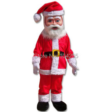 new fast ship ohlees Funny  Santa Claus character halloween christmas party gift mascot costumes adults size costomize