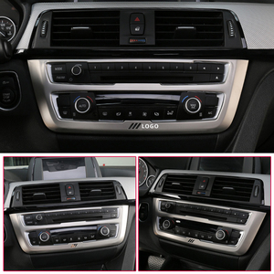 Image 5 - For BMW F30 F34 320i 3 series Accessories Stainless steel Headlight Switch Buttons Decor Cover Interior Trim Car Styling Sticker