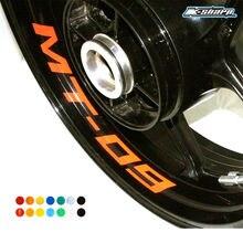 Для YAMAHA MT-09 MT09 пользовательские внутренний обод Declas колеса Светоотражающие наклейки полосы