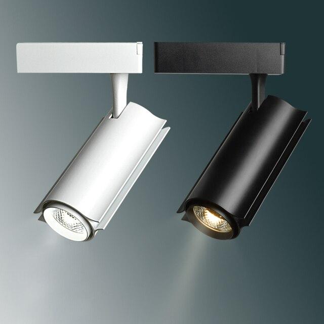 Hoonia High Quality Led Track Lighting 220v Light Cob 7w 12w 15w 20w 30w Rail
