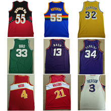 Men Dikembe Mutombo Larry Bird Earvin Johnson Allen Iverson Steve Nash  Charles Barkley Spud Webb Dominique 5acdd08bb
