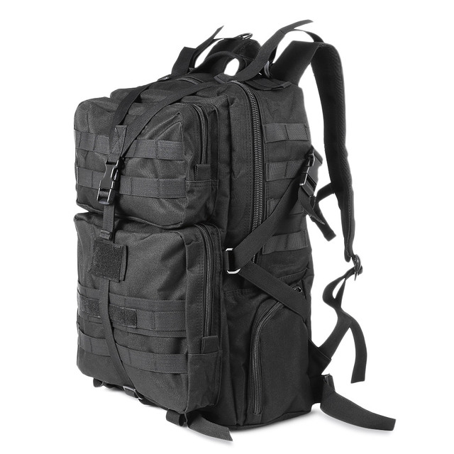 45l Military Tactical Assault Pack Backpack Army Molle Waterproof Bug Out Bag Small Rucksack For Outdoor