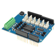 L298N L298P 4A Dual Channel Motor Driver Module Motor Shield R3 For Arduino 5V ~ 12V Free Running Stop And Brake Function(China)