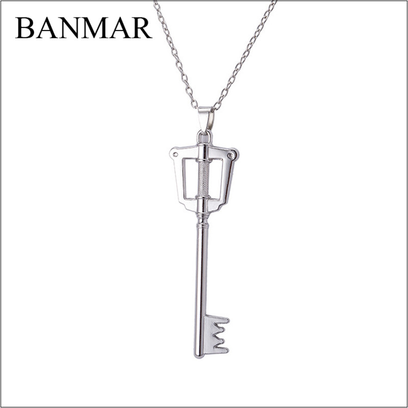 Banmar popular anime kingdom hearts keyblade metal necklace banmar popular anime kingdom hearts keyblade metal necklace pendants game jewelry accessories figure cosplay toy gift in pendant necklaces from jewelry aloadofball Choice Image