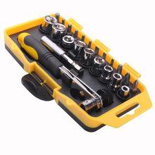 Трещотка отвертка набор 23 в 1 винт партия электрические инструменты