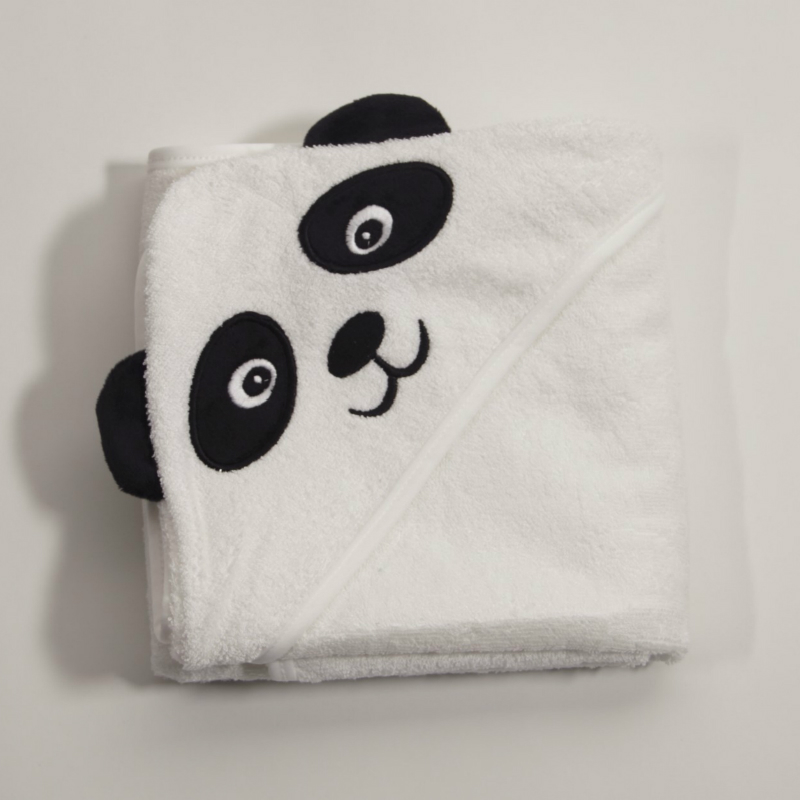 fad40a7fdcb Baby Gowns Newborn Pajamas Sleeper with Hat Bamboo Fiber Bath Towel Cartoon  Panda Sleeping Bag Nightgown for Children Cloak-in Robes from Mother   Kids  on ...