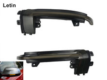 Letin For Audi A4 A5 S5 B8.5 side rearview Mirror RS5 RS4 RS3 sline A3 Dynamic blinker scroll Flow LED Turn Signal Light