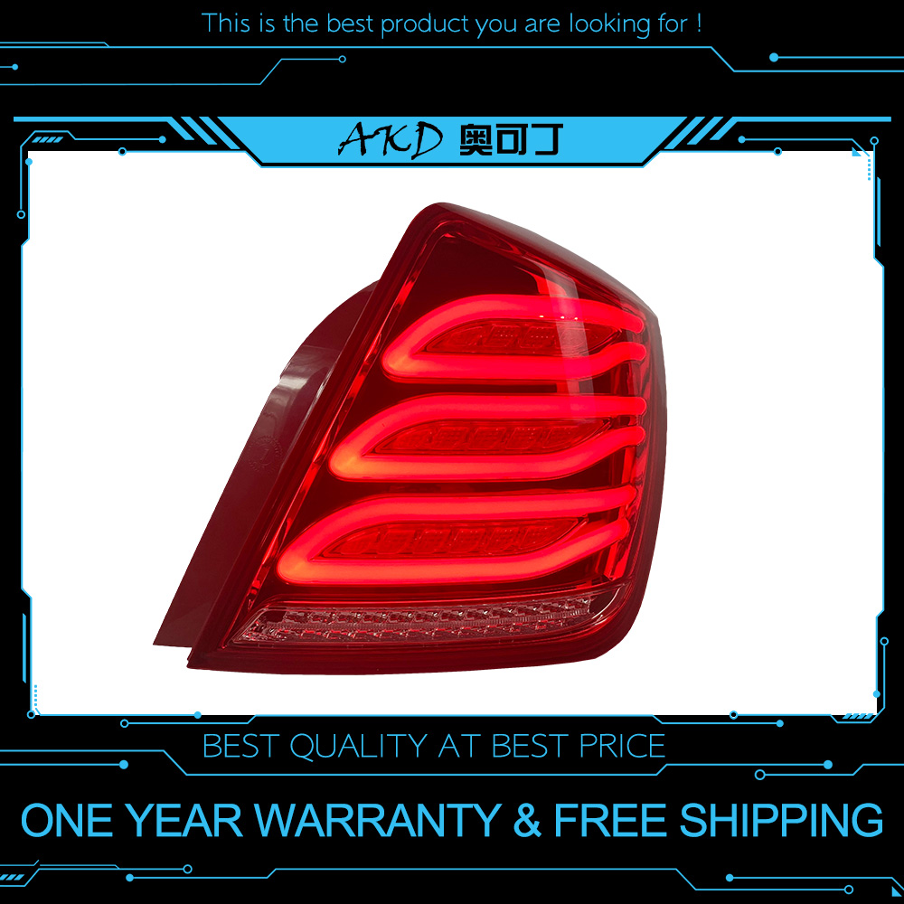 AKD tuning cars Tail lights For Buick opel Excelle 2003 2007 Taillights LED DRL Running lights Fog lights Rear parking lights