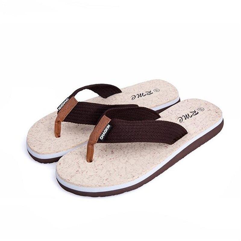 New 2017 Summer Mens Casual Flat Slippers Men Flip flop Beach Sandals Shoes Male Leisure Soft Massage Brand Flip Flops Men sandals 2016 new famous brand buckle womens flip flop sandals summer beach sandals af327