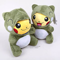 Monster Pikachu Cos Migawari Plush Toy Soft Stuffed Animal Doll 32cm Kids Toys Gifts 2 Styles