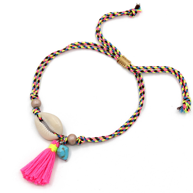 Anklets for Women Girls Foot Jewelry Holiday Beach Barefoot Sandals Bracelet 2