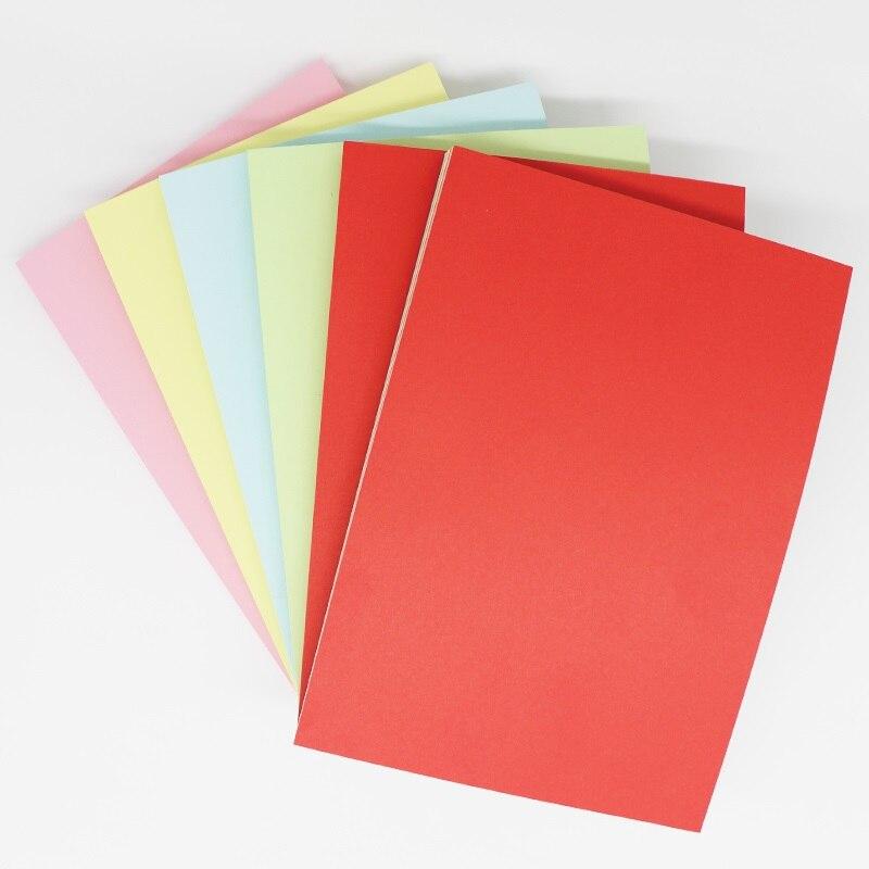 10 color kids origami paper DIY 70g 80g color copy paper 500 sheets per pack A4 paper tianzhang tango новые зеленые дни глава a4 80g копия бумаги 500 сумка 8 упаковок коробка
