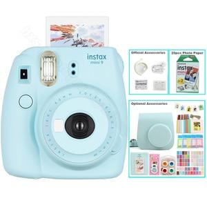 Image 3 - Kit Photo 5 couleurs Fujifilm Instax Mini 9 avec sac de transport, Film Instax Mini 20 feuilles, Album, autocollants et objectif