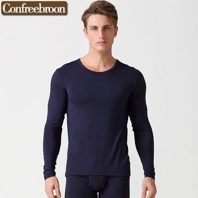 5a5deb5cc0334 High Elastic Slimmer Men s Body Shapers Long Sleeve Modal Underwear  Bodysuit Elastic Body Slimming Shapewear Corsets