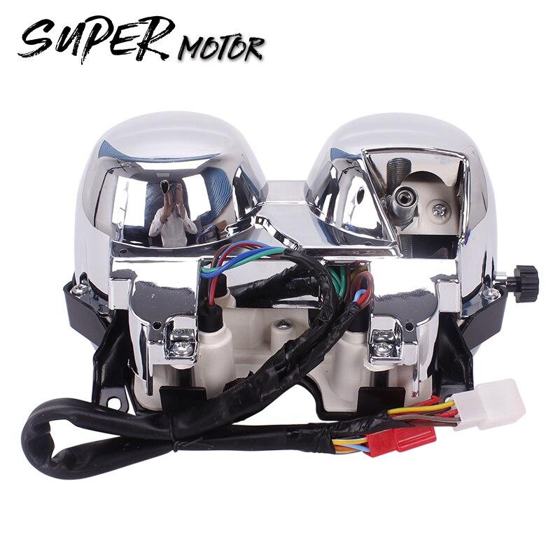 Motorfiets Snelheidsmeter Toerenteller Meter Gauge - Motoraccessoires en onderdelen - Foto 2