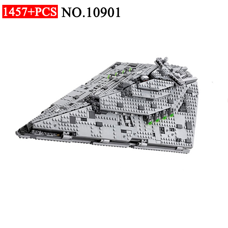 BELA 10901 Model Destroyer Set Compatible 75190 Building Block Bricks Developmen Toys Children Birthday Gift